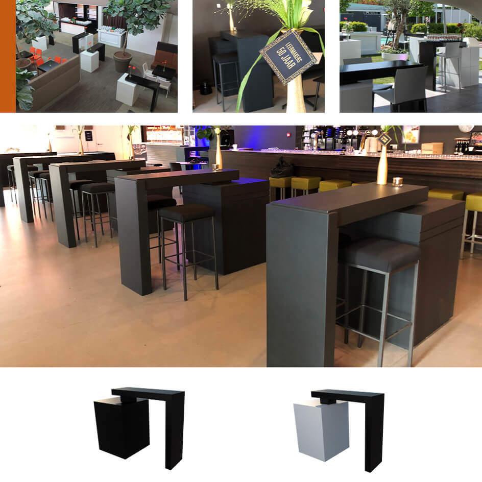 Black Design - Zwarte projectinrichting